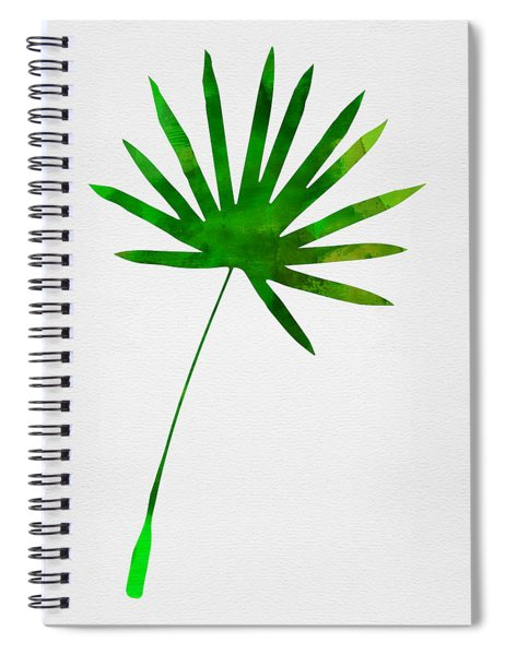 Tropical Chamaerops Leaf I Spiral Notebook