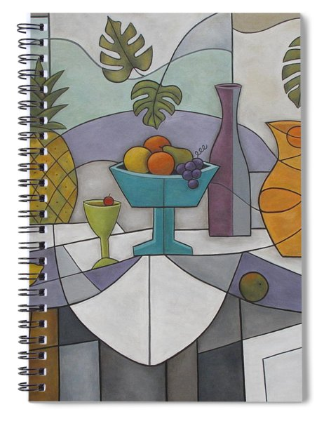 Tropical Delights Spiral Notebook