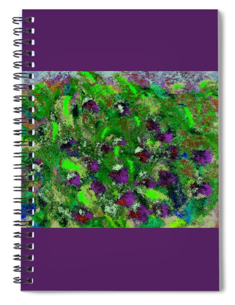 Tropical Garden Path Spiral Notebook