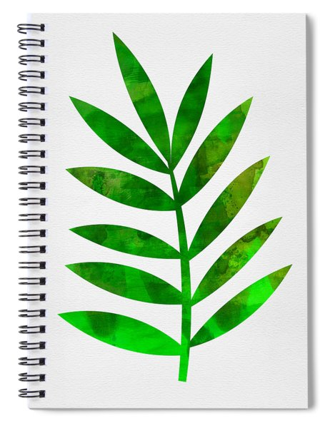 Tropical Leaf 3 Spiral Notebook