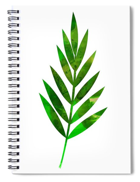 Tropical Leaf I Spiral Notebook