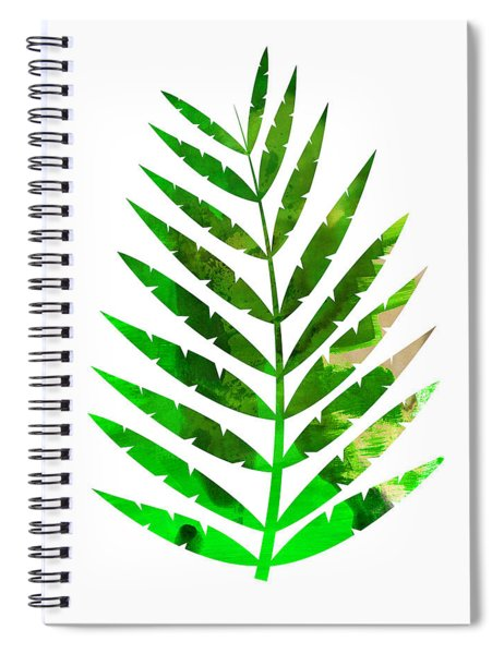 Tropical Leaf Spiral Notebook