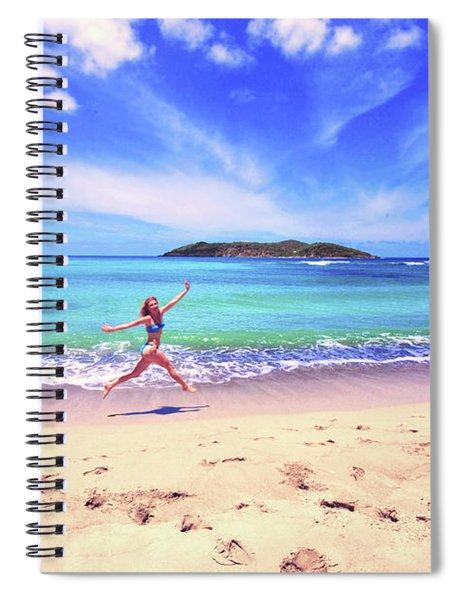 Tropical Spring Spiral Notebook