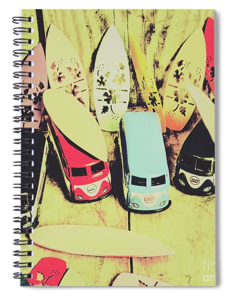 Tropical Trippers 1960 Spiral Notebook