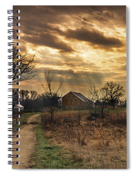 Trostle Sky Spiral Notebook