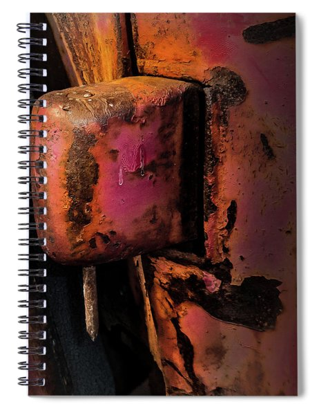 Truck Hinge With Nail Spiral Notebook