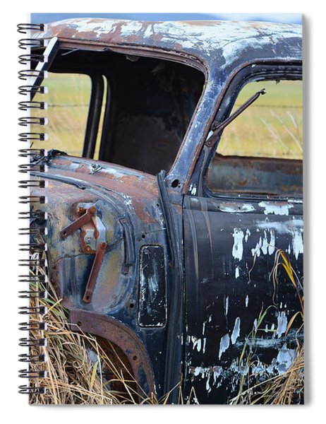 Truck Remnant Spiral Notebook