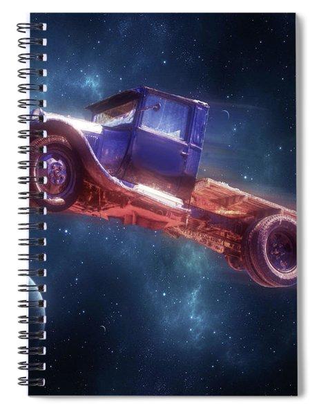 Truck Trek Spiral Notebook