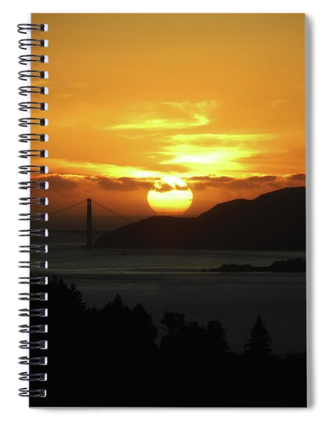 True Gold Spiral Notebook