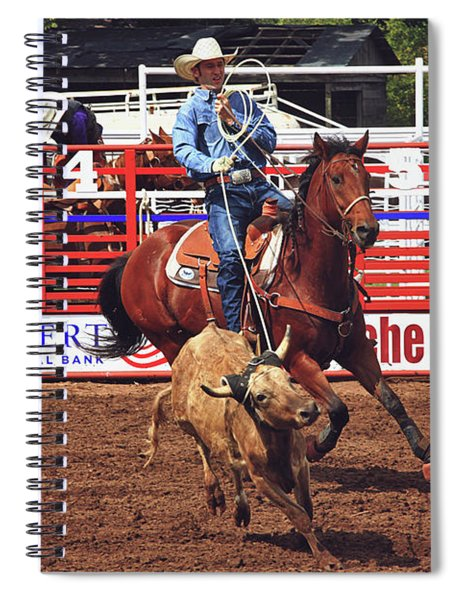 Trying To Rope In Those Points Spiral Notebook