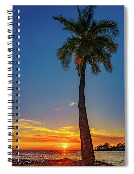Tuesday 13th Sunset Spiral Notebook