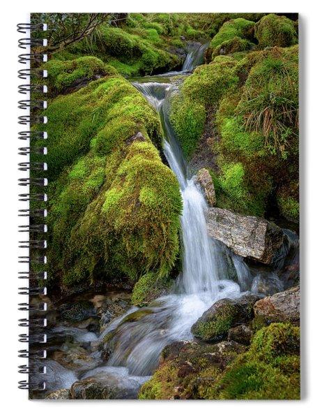 Tufteelvi, Norway Spiral Notebook