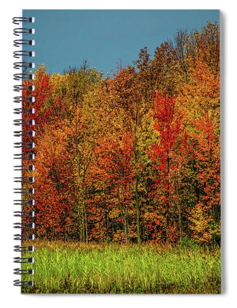 Tug Hill Colors Spiral Notebook