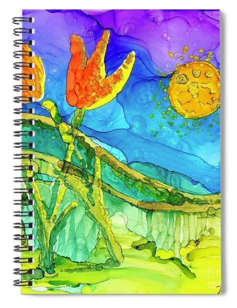 Tulip Hugs Spiral Notebook