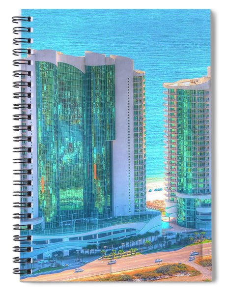 Turquoise Place Spiral Notebook