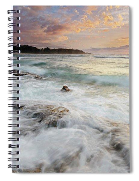 Turtle Bay Sundown Spiral Notebook