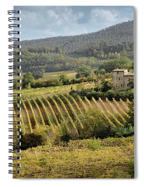 Tuscan Valley Spiral Notebook