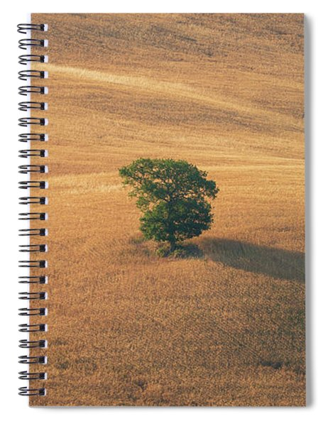 Spiral Notebook featuring the photograph Tuscany by Mirko Chessari