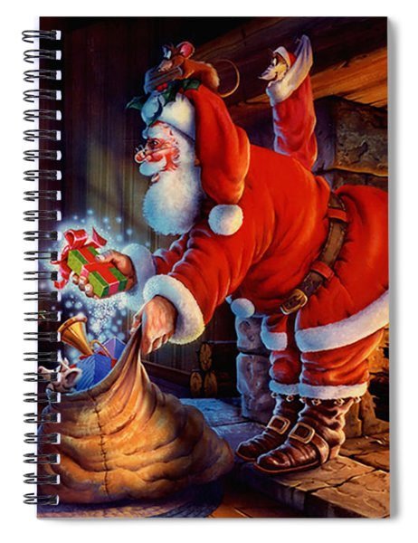 'twas The Night Before Christmas Spiral Notebook