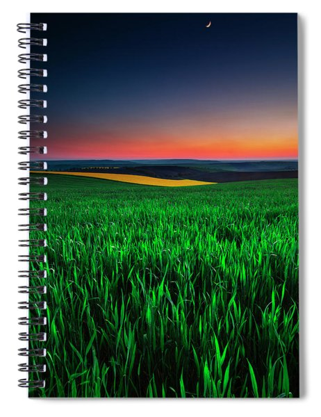 Twilight Fields Spiral Notebook
