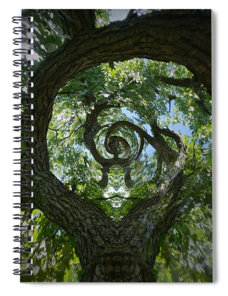 Twisted Tree Spiral Notebook