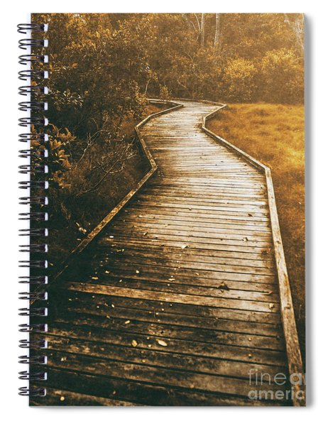 Twisting Trails Spiral Notebook