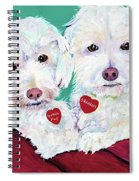 Two Amigos Spiral Notebook