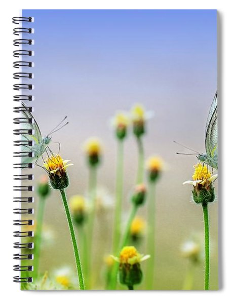 Two Butterflies Spiral Notebook