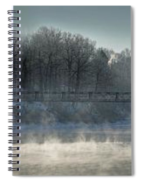Two Cent Bridge At -5f Spiral Notebook