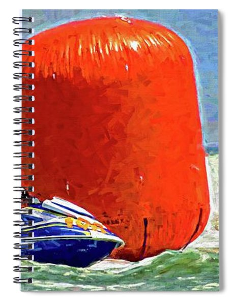 Two Headed For One Buoy Spiral Notebook