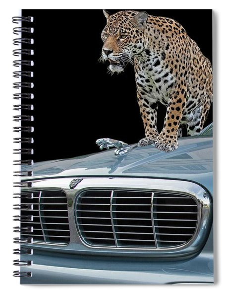 Two Jaguars 1 Spiral Notebook