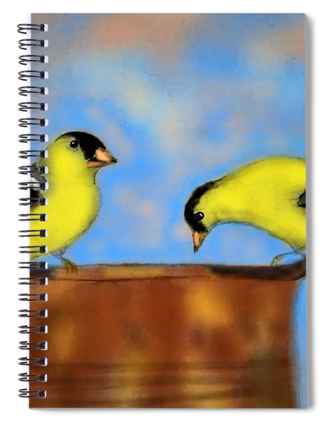 Two Little Sippers Spiral Notebook