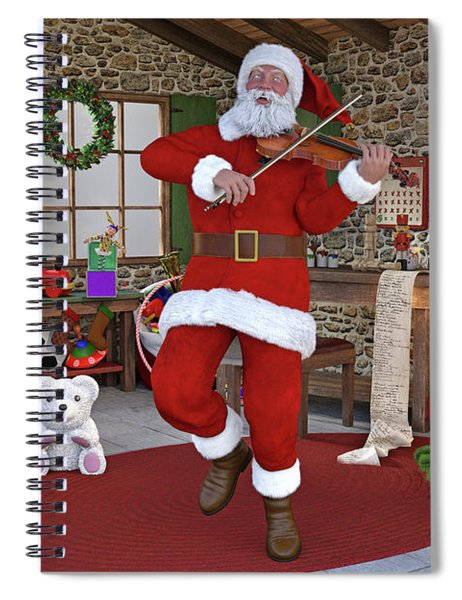 Two Nights Before Christmas Spiral Notebook