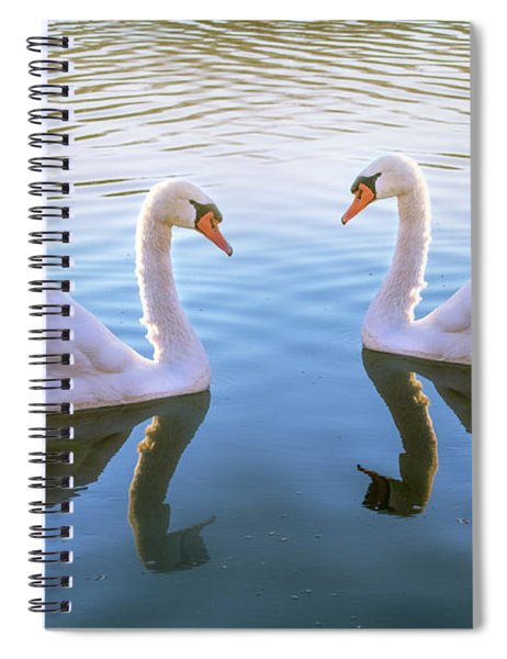 Two Of Them Spiral Notebook