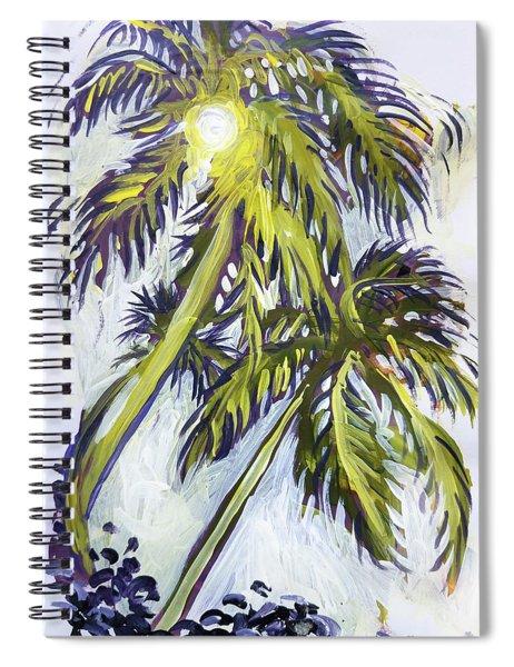 Two Palm Sketch Spiral Notebook