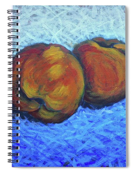 Two Peaches Spiral Notebook