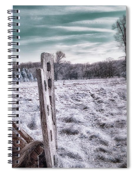 Two Posts Spiral Notebook