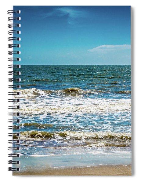 Tybee Tides Spiral Notebook