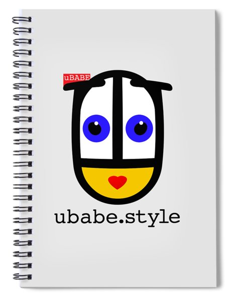Ubabe De Stijl Spiral Notebook