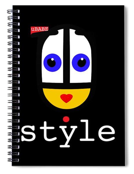 Ubabe Dot Style Spiral Notebook