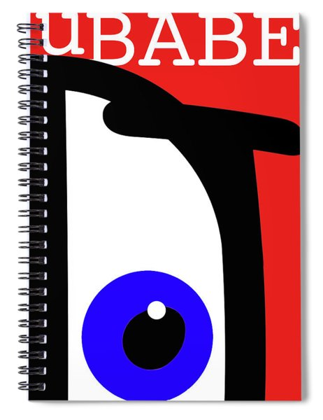 Ubabe French Spiral Notebook