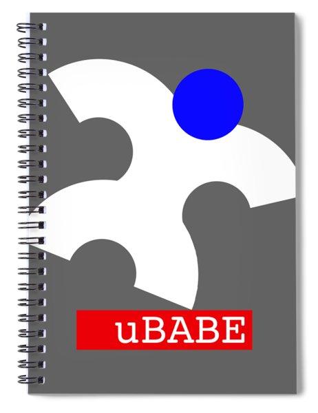 Ubabe Jazz  Spiral Notebook