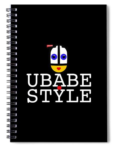Ubabe Style Url Spiral Notebook