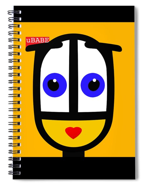 Ubabe Sun Spiral Notebook