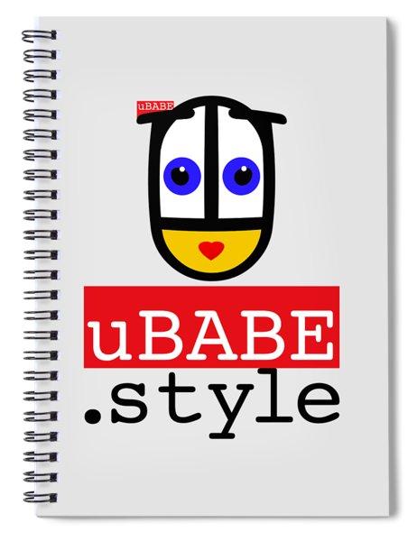 Ubabe T Shirt Spiral Notebook