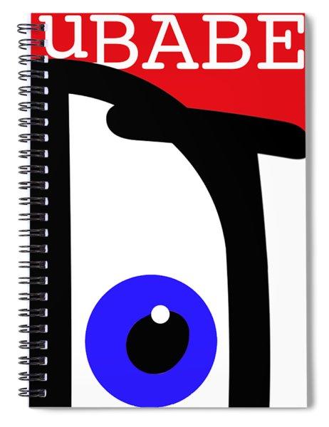 uBABE Spiral Notebook