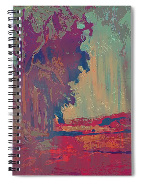 Uikhoven Trees Spiral Notebook