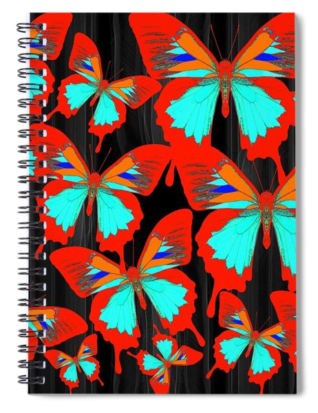Ulysses Multi Red Spiral Notebook