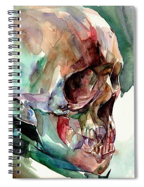 Unconfirmed Skull Spiral Notebook