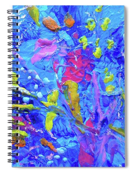 Under The Reef - Detail Spiral Notebook